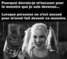 Psycho Quotes, Joker Quotes, Citations Jokers, Quotes Francais, Citations Photo, Harley And Joker Love, Reality Of Life, Bad Mood, More Than Words