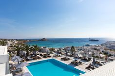 This exquisite view enraptures you by its overwhelming beauty! #Luxury #Hotel #Mykonos #Greece
