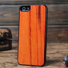 Straight Wood Grain Iphone 5 Wood Case