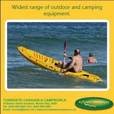 Tuinroete Woonwaens Campworld MB has the widest range of camping and outdoor equipment and are currently making space for our new stock. Visit our showroom and cash in on the Pink Dot specials markers on items in store. #specials #outdoor