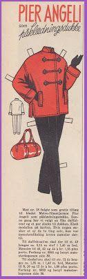Ingrids Påklædningsdukker: Pier Angeli 1955 - 31