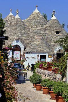 Alberobello village, Bari province Puglia region, Italy