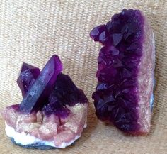 Amethyst Crystal Soap Set of 2 by GoodLifeSoaps on Etsy, $8.75