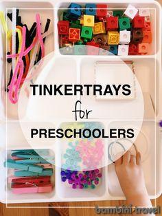 How to Create a Tinkertray   preschool STEM   Bambini Travel