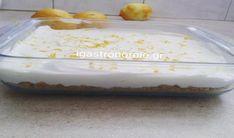 Φανταστικό λεμονογλυκό με μπισκότα και γιαούρτι Από τα πιο νόστιμα,εύκολα,ελαφριά γλυκά που έχω δοκιμάσει!