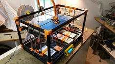 Fix Gantry X axis support shoud use and from Ultimaker clone design on both si 3d Printer Kit, Cnc Router, Drafting Desk, Wooden Toys, 3d Printing, Furniture, Medicine, Home Decor, Electronics