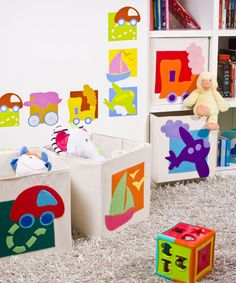 Ideas de decoración para el cuarto de los niños.