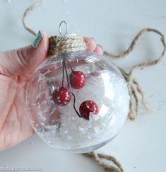 Simple DIY Christmas Ornaments – The Happy Housie