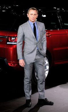 Daniel Craig at the 2014 Range Rover Sport World Unveiling at at Moynihan Station in NYC on Mar 2013 Range Rover Sport 2014, Stand Up Guys, Jaguar Land Rover, Range Rovers, Daniel Craig, My Dream Car, Skylight, Mad Men, James Bond