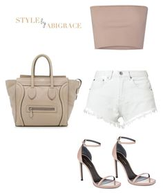 """""""Untitled #170"""" by abiigracee on Polyvore featuring Calvin Klein Collection, Bitching & Junkfood, Yves Saint Laurent and CÉLINE"""