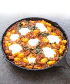 Skillet Gnocchi With Italian Sausage and Spinach