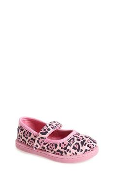 TOMS 'Tiny - Jaguar' Mary Jane (Baby, Walker & Toddler) available at #Nordstrom
