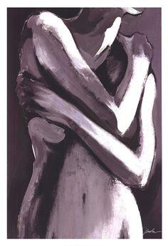 Simply Nude Art Print by Liz Jardine