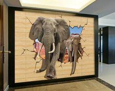 3 D Wall paper Print