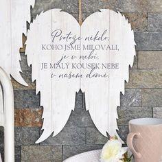 HOUSEDECOR.CZ - DEKORACE - Andělé - Křídla XXL - Nebe v našem domě Motto, Memories, Drawings, Diy, Gifts, Home Decor, Creativity, Quotes, Hama