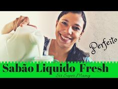 Sabão Liquido Caseiro Fresh Perfeito não talha -Sir Super Mamy - YouTube Estilo Real, Youtube, Fresh, Homemade Cleaning Products, Homemade Dish Soap, Cleaning Tips, Tips And Tricks, Hand Soaps, Personal Hygiene