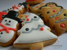 mini galletas de Navidad – Galletaslombardero Galletas de Navidad Christmas cookies