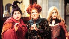 bring back the sanderson sisters!