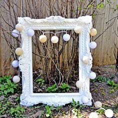Yarn ball light string / Guirlande de boules lumineuses   DeSerres