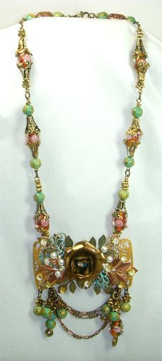 B'Sue Boutiques Collage Necklace