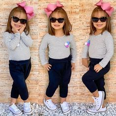 Cute Baby Girl Outfits, Mommy And Me Outfits, Dresses Kids Girl, Cute Baby Clothes, Outfits Niños, Kids Outfits, Little Girl Fashion, Kids Fashion, Cute Baby Pictures