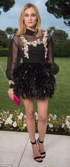 Gigi Hadid and Lara Stone wow in cleavage-baring gowns at amfAR gala #dailymail