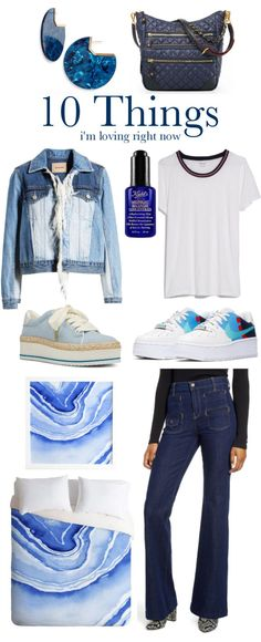 All About Blue - 10 Things Im Loving Right Now - Laura Trevey