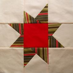 Star quilts are perfect for the holidays.
