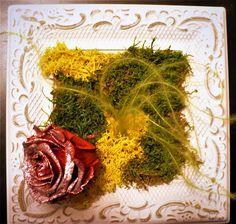 rose éternelle petit cadre romantique Rose Stabilisée, Ethnic Recipes, Food, Frames, Romantic Things, Meals, Yemek, Eten