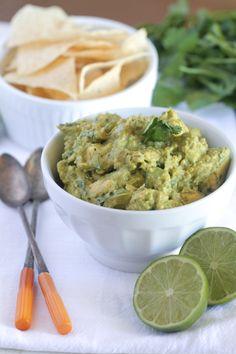 Restaurant Style Homemade Guacamole....A Spicy Mexican Recipe.