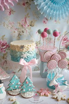 A pastel Christmas....