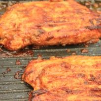 #GuiltFree BBQ Chicken: #Chicken breasts marinated in a flavorful homemade #BBQ sauce and grilled.