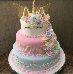 24 ideas of best birthday cake Unicorn for girls read-it-later Beautiful Cakes, Amazing Cakes, Unicorn Birthday Parties, Birthday Cake, Happy Birthday, Cakes Today, Cute Cakes, Crazy Cakes, Creative Cakes