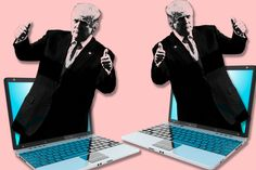 Using hashtags like #CrookedHillary and #TrumpTrain, automated networks of social-media bots disseminated erroneous information throughout the 2016 campaign, with Trump benefiting.