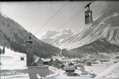 © Archiv Gemeinde Lech Vintage Ski, View Source, Mount Everest, Skiing, Nostalgia, Europe, Canada, Mountains, Retro