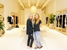 Inside Mary-Kate & Ashley's new Elizabeth and James store in Los Angeles, CA.
