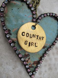 country girl: rusty & sparkly
