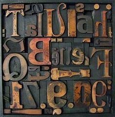 wood block letterpress typography artists - Yahoo Image Search Results Diy Arts And Crafts, Wood Blocks, Life Is Beautiful, Letterpress, Typography, Reading, Bella, Image Search, Artists