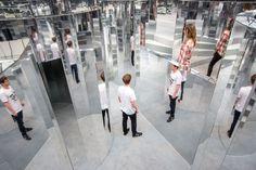 Bucket list go to a Mirror Maze.... Peckham's Got A Mirror Maze http://londonist.com/2016/09/in-pictures-peckham-s-new-mirror-maze