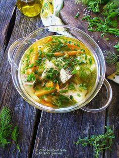 Healthy Vegetable Cod Soup