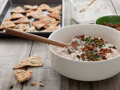 Applewood Smoked Bacon and Onion Dip