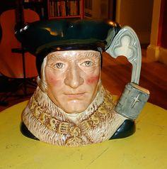 Vintage Royal Doulton Character Mug  Sir by 7AWestCollectibles, $170.00