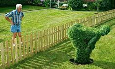 April Fools #landscaping ! What a great #garden idea, #lol