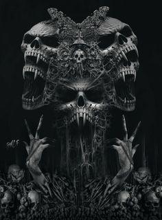 Skull tattoos, evil skull tattoo и dark fantasy art. Dark Fantasy Art, Fantasy Kunst, Grim Reaper Art, Grim Reaper Tattoo, Grim Reaper Drawings, Evil Skull Tattoo, Skull Tattoo Design, Evil Tattoos, Skull Tattoos