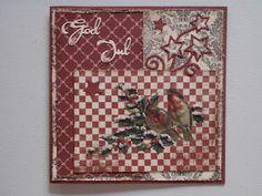 Fritids sysler: Jule kort med sne/is