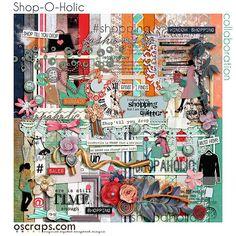 Oscraps Shop o holic 2015 Collaboration digi files / oscraps