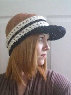 365 Crochet: XvX Visor -free crochet pattern-