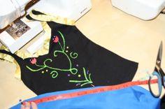 Princess Anna Diy Dress includes bodice design pdf