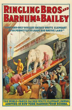 Ringling Bros and Barnum & Bailey 1927.