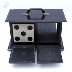 Original Conradi-Horster Würfelkasten Wooden Die Box Sucker Effect Magic Prop in Spielzeug, Zauberartikel & -tricks | eBay - cyan74.com vintage & pop culture